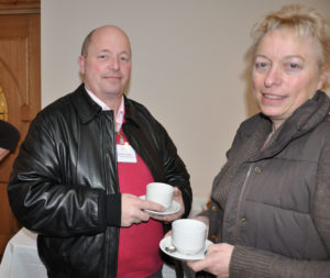 Andrew and Sally Trotter of AET Transport Services.