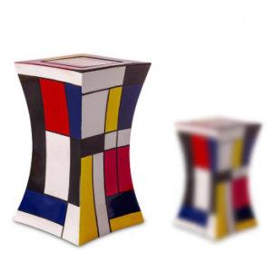 Abstract Adult Fibreglass Urn