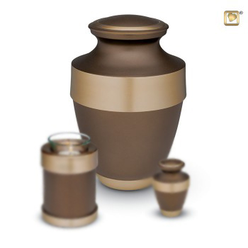 loveurn-matt-brown-adult-urn-with-gilded-brass