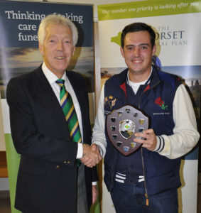 The Dorset Association of Cricket Officers (DACO) Fair Play award were presented by Merrick Wilkinson and the Div 1 award went to Jake Brooks of Ferndown Wayfarers.