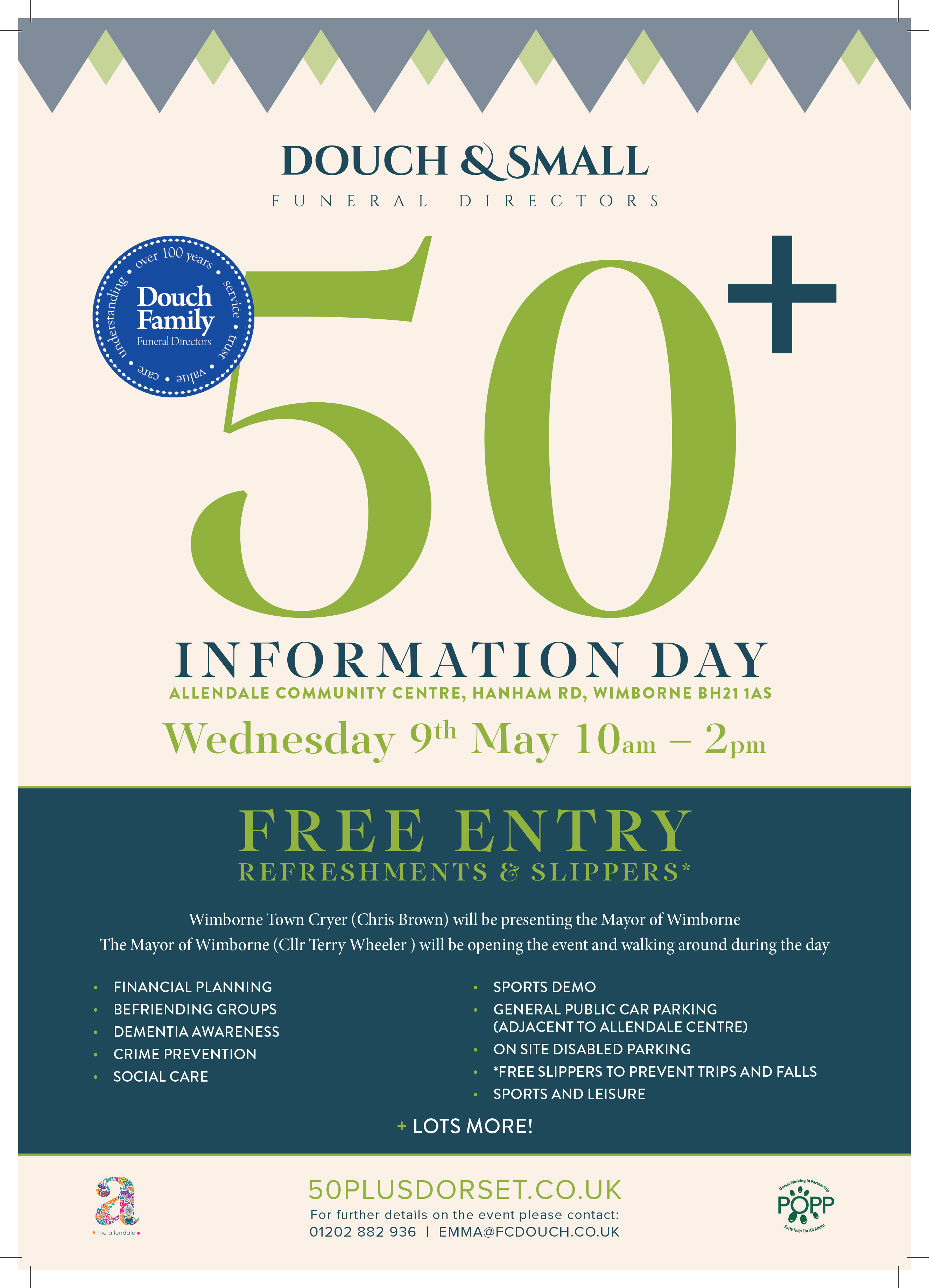 Douch Family 50+ Information Day