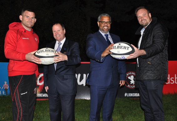Douch Family Funeral Directors partner with Bournemouth Rugby