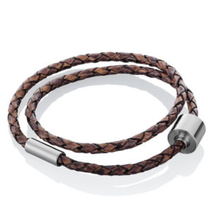 tadblu-barrel-braided-leather-memorial-bracelet-brown