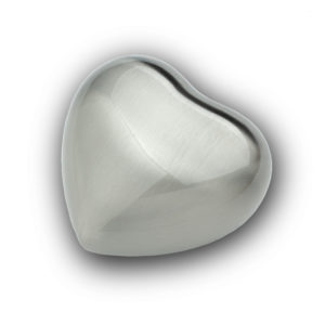 Silver Metal Keepsake Heart