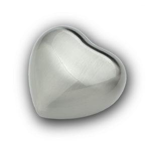 Silver Metal Keepsake Heart