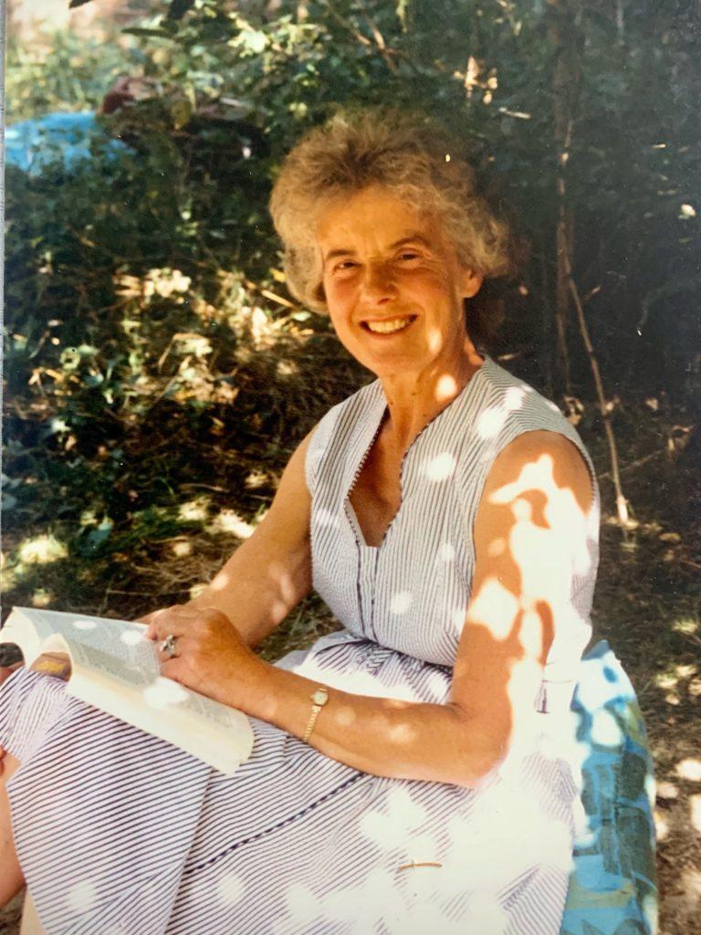 The late Sheila Groom
