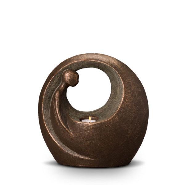 geert-kunen-designer-urn-upon-reflection-ceramic-bronze-urn-with-candle
